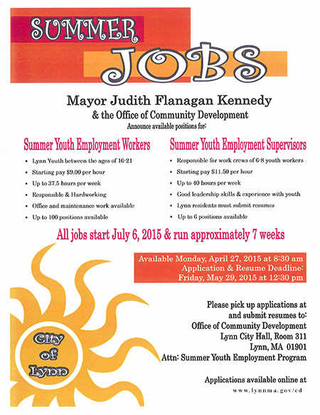 of teen city jobs yuma